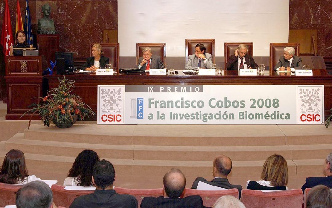 El año 2016 verá el relanzamiento del Premio Francisco Cobos a la excelencia en investigacion biomédica