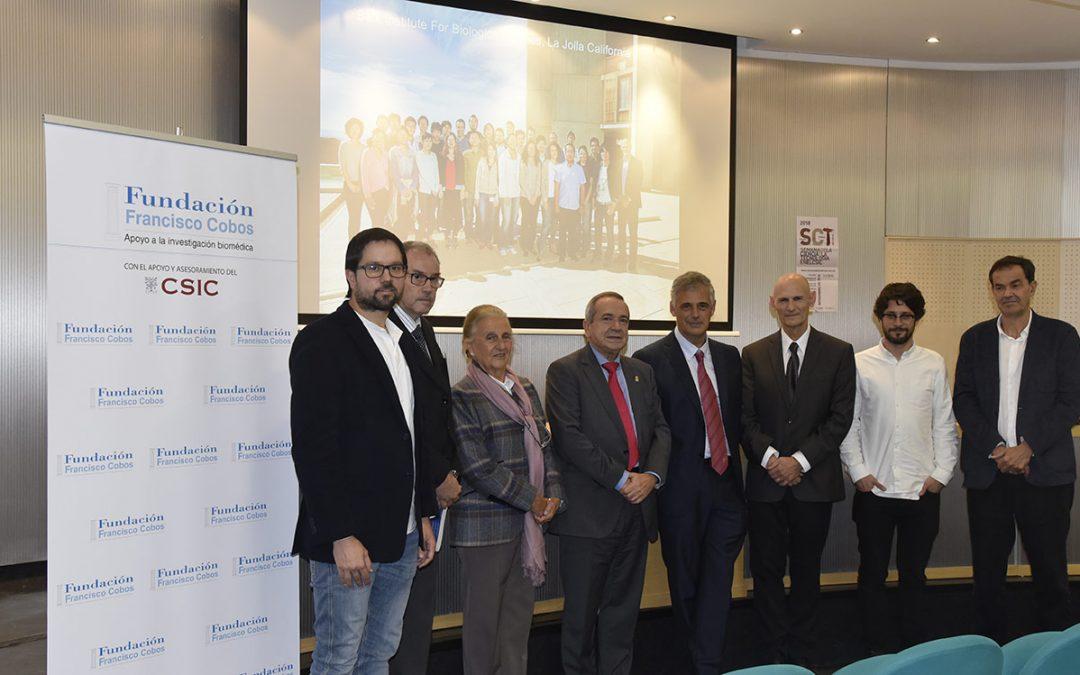 Entrega del XII Premio Francisco Cobos y Becas Eduardo Gallego