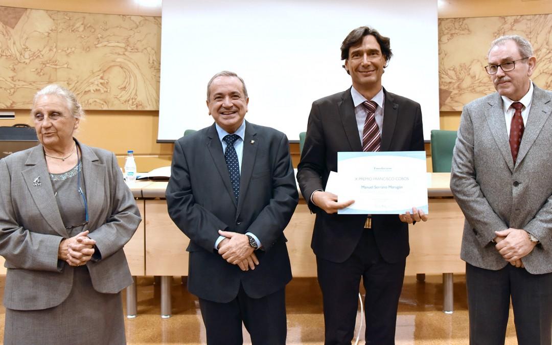 El X Premio Francisco Cobos se otorga a Dr. Manuel Serrano Marugan, Profesor del CNIO